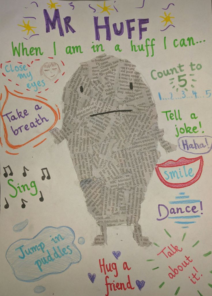 Mr huff anna walker cbca 2016 book week activity for Emotion art projects