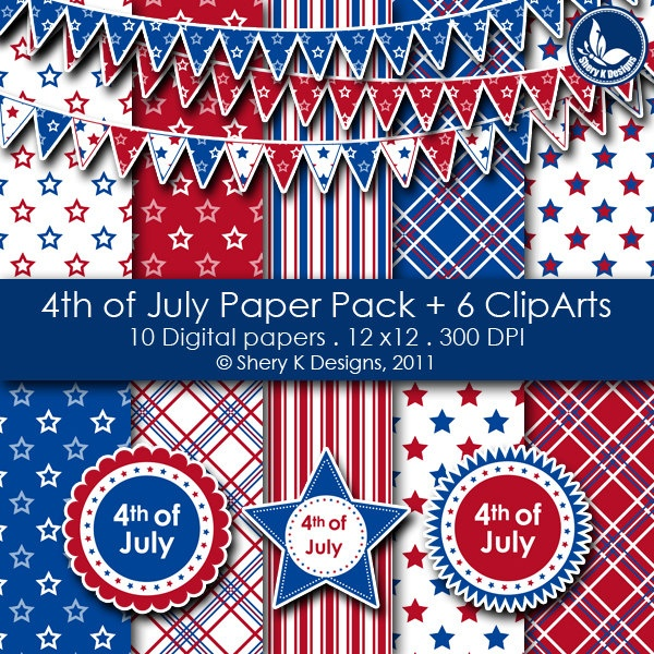 4th of july art and crafts