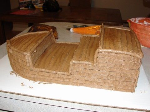 pirate ship cake template   The Knead for Love: Pirate Ship Birthday Cake!!!