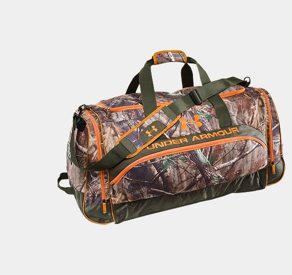 Camo under Armour Duffel bag!!!.....I absolutely love this bag!!!!!!!!❤