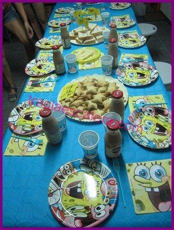 Las 25 mejores ideas sobre fiesta de bob esponja en pinterest fiesta de cumplea os de - Decoracion bob esponja ...