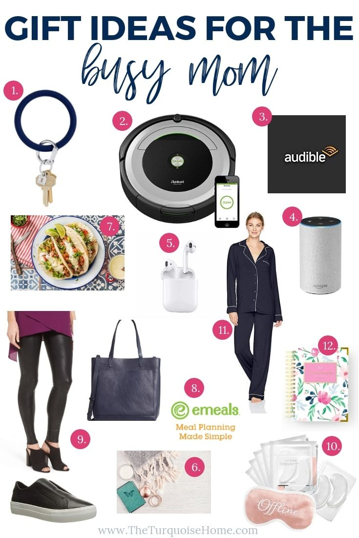 Gift Ideas For The Busy Mom The Turquoise Home Busy Mom Gifts Best Gifts For Mom Christmas Presents For Moms