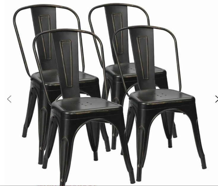 Black metal chairs metal dining chairs dining chairs