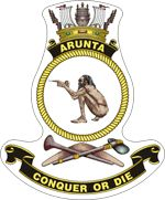 HMAS Arunta (II) Badge