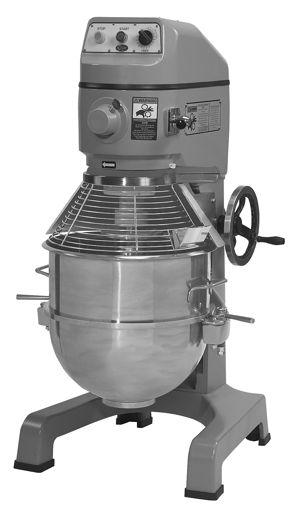 La batidoraplanetaria o batidoravertical tiene un agitador que gira sobre un eje de desplazamiento, mientras que el recipiente de mezcla se mantiene estacionario. La batidoraplanetaria es…