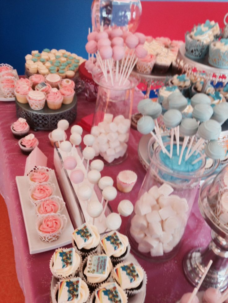 Happy Mother's Day cupcakes -pops -candy and sweet bar