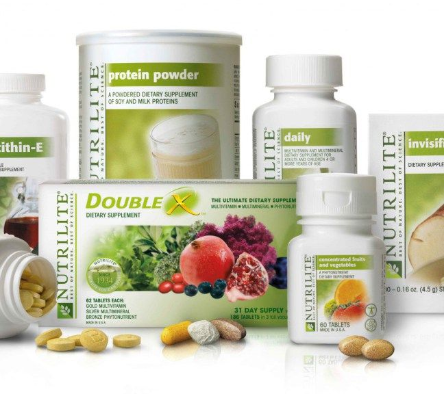 Nutrilite product group shot