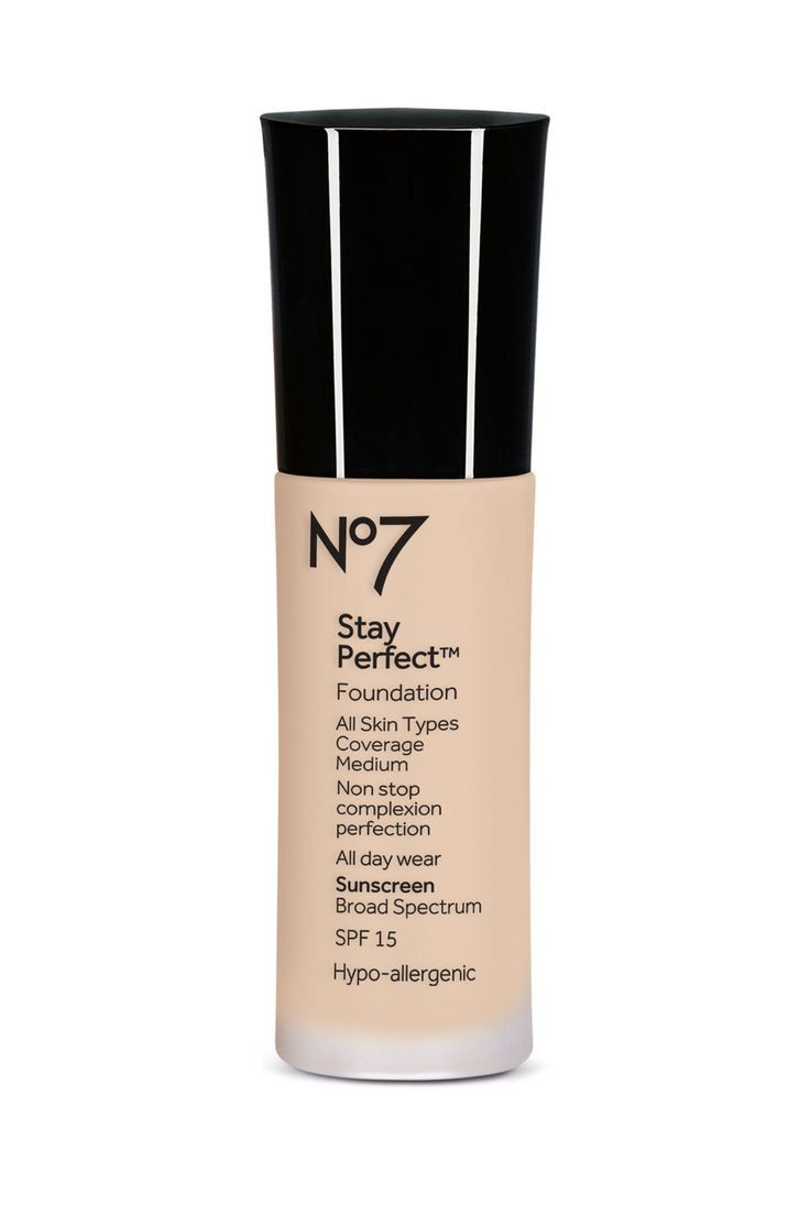 No. 7 Stay Perfect Foundation  - http://ELLE.com