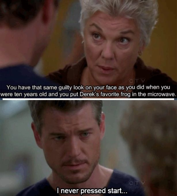 Greys anatomy...literally one of my all time favorite moments