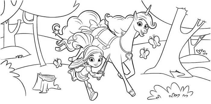10 Free Nella The Princess Knight Coloring Pages Princess Coloring Pages Cartoon Coloring Pages Nick Jr Coloring Pages
