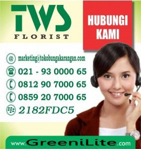 TWS Florist memberikan kepada anda sebuah pelayanan dalam suatu pembelian bunga. Kami menyediakan aneka bunga lengkap yang bisa anda dapatkan dengan mudah.  http://www.greenilite.com/jual-bunga-ucapan-hari-imlek-di-jakarta/
