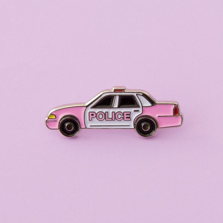 STYLE: Pink Cop Car this pin by laser kitten and yoko honda kinda makes getting arrested seem like a good idea… if it means getting to sit in the backseat of such a sweet ride, driven by a lady cop wh