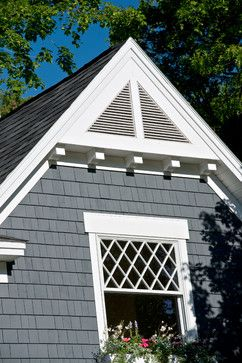 Gable Vents on gable end window design