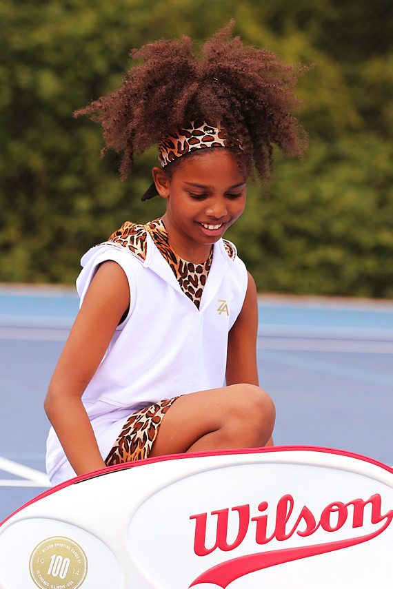 Girls White Tennis Hoodie  Girls Tennis Clothes  Junior