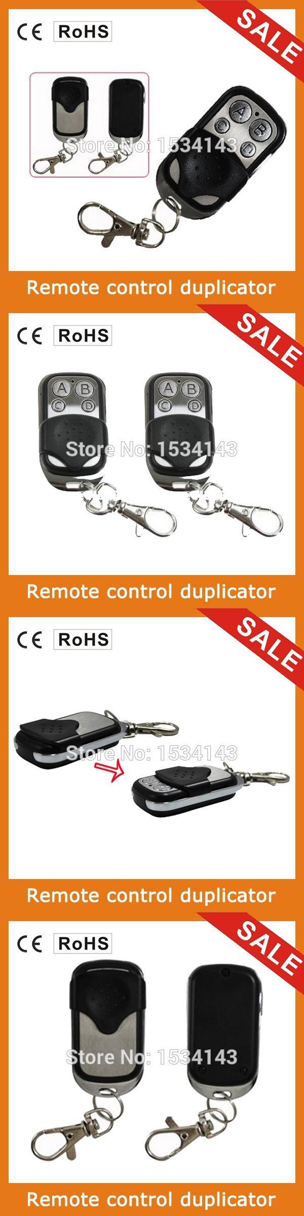 New Wireless Remote Control Copy controller Universal Handle Garage Door Electric Door Family Security Alarm Control