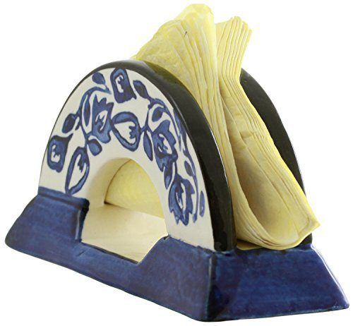 Prime - Deals Extended on SouvNear Items! Handmade comes in limited quantities. Buy before we run out! A handsome cabin or lodge decoration, this ceramic holder keeps your napkins clean, dry and readily available for when you need them Place by the kitchen or bathroom sink as a hand washing valet, or keep on the bar