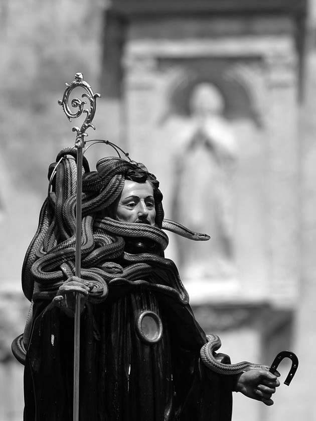 St. Dominic Festival in Cocullo - Italy