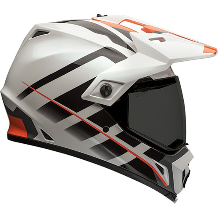 New Bell Raid Mx 9 Adventure Off Road Motorcycle Helmet