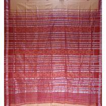 OSS074: Handloom cotton fish border Saree