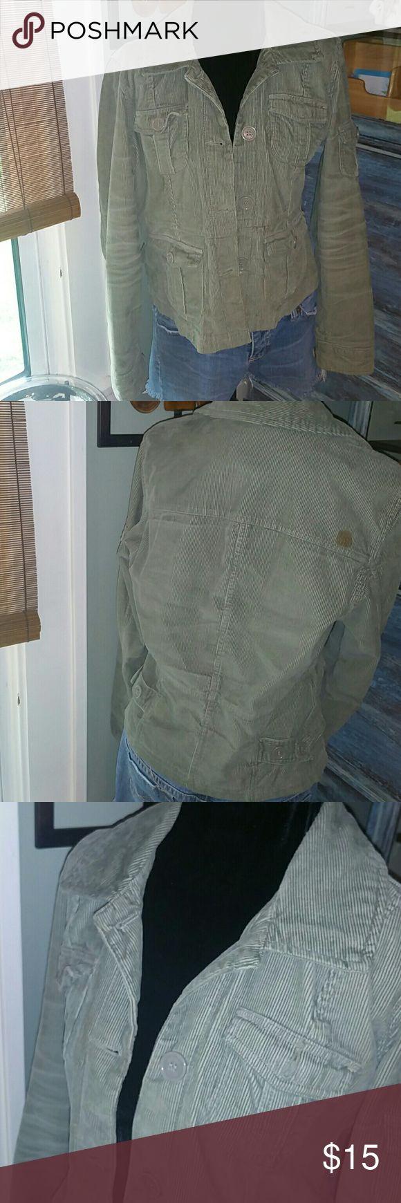 Sage green utility jacket Sage green utility jacket. Button missing on left breast pocket. Aeropostale Jackets & Coats Utility Jackets