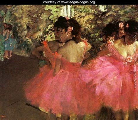 Dancers In Pink - Edgar Degas - www.edgar-degas.org