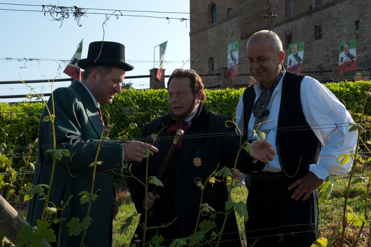 The Count and his wine advisers