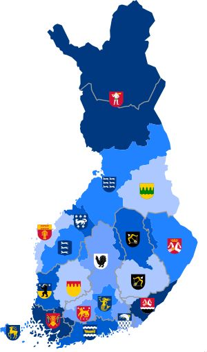 Landskap i Finland – Wikipedia