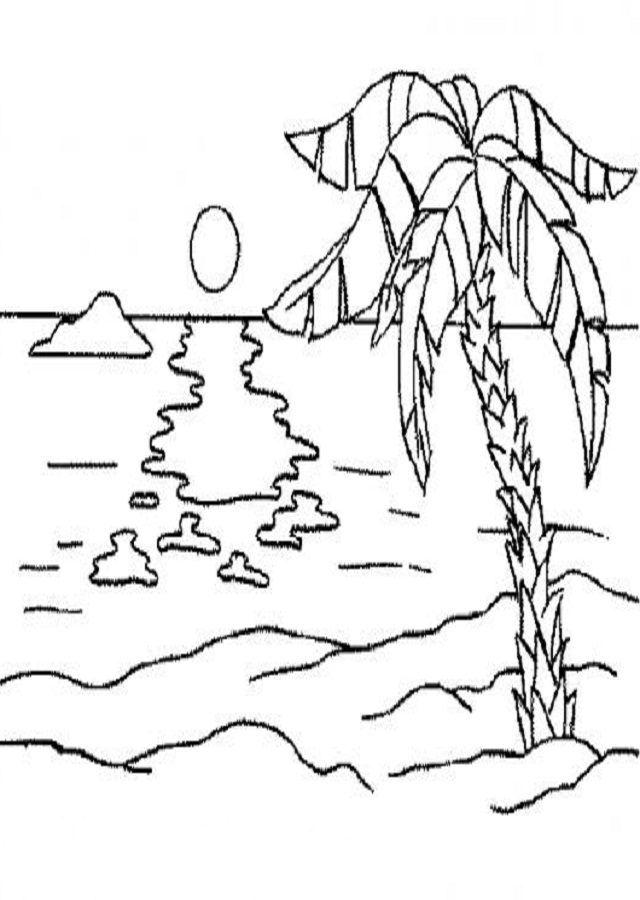 Dibujos De Paisajes Para Ninos Faciles Dibujos Para Colorear