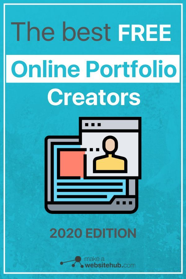 Best Free Online Portfolio Creators 2020 Showing Off Your Best Work For Free Make A Website Hub Free Online Portfolio Online Portfolio Online Portfolio Website