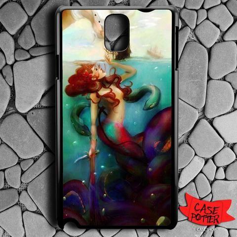 Ariel The Little Mermaid Samsung Galaxy Note 3 Black Case