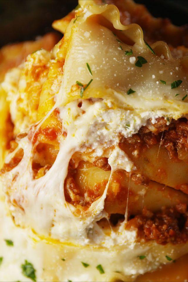 Crock-Pot Lasagna  - Delish.com