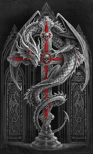 Dragon metal.... would make an awesome tat