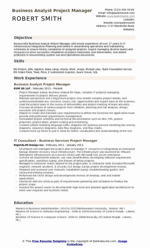 27 Project Manager Job Description Resume In 2020 Project Manager Resume Manager Resume
