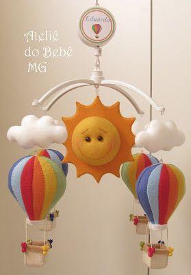 Ateliê do Bebê MG: Móbiles
