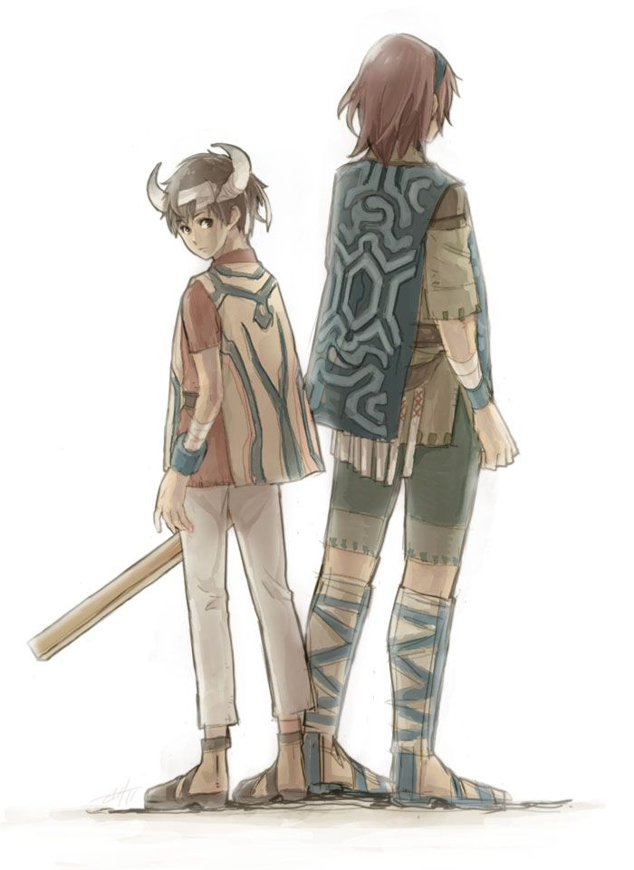 Ico and Wander - ICO and Shadow of the Colossus