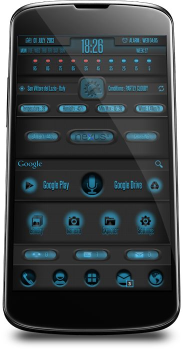 [UCCW][THEME][WIDGET] UCCW 2.0 skins and themes - Page 874 - xda-developers