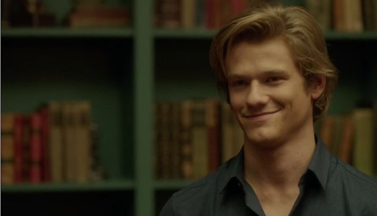 Lucas Till as Angus MacGyver in the MacGyver reboot Why does he have to be so gorgeous?
