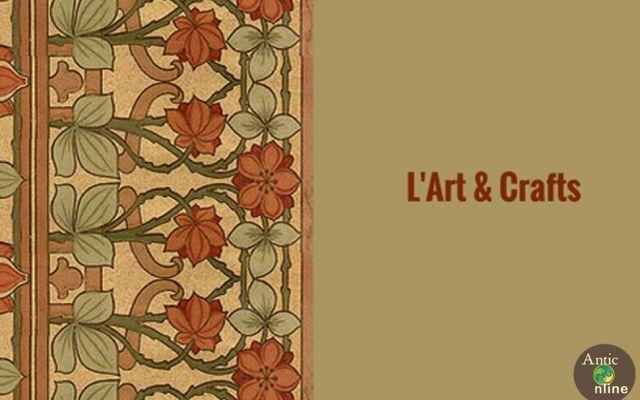 Approfondimento: l'Art & Crafts Dalla seconda metà del diciannovesimo secolo l'Europa viene scossa da profonde trasformazioni sociali, industriali ed economiche che trasformano anche l'ambiente artistico. Fioriscono nuove tecniche #anticonline #art&crafts #arredamento