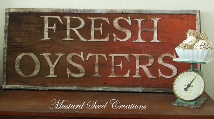 The Making of a Sign ~ Miss Mustard Seed tute