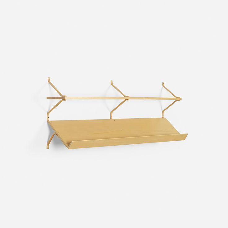 102: Bruno Mathsson / shelf < Scandinavian Design, 16 May 2013 < Auctions | Wright