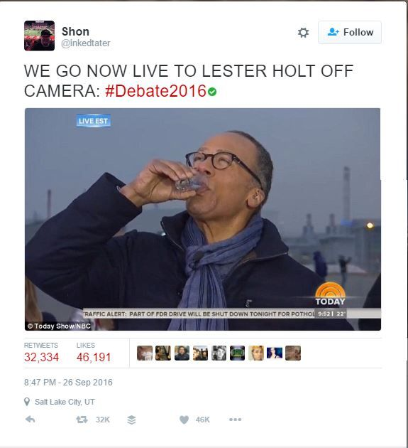 I searched for Top Debate Tweets, and they were ALL Leftist posts. Hollyweirdos are full of themselves, because they are so in touch with the real world.