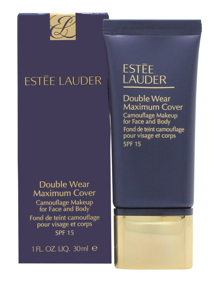Estee Lauder/Double Wear Maximum Cover Camouflage Makeup 4n2 Spiced Sand 1.0 Oz. Double Wear Maximum Cover Camouflage Make Up (Face & Body) SPF15 - #12 Rattan (2W2) - 30ml/1oz. Make Up. Estee Lauder - Complexion - Double Wear Maximum Cover Camouflage Make Up SPF15.