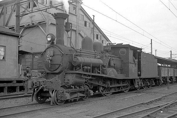 東武鉄道1959年-蒸気機関車電車貨車