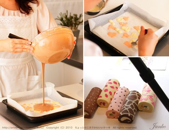 Cake roll, how to.