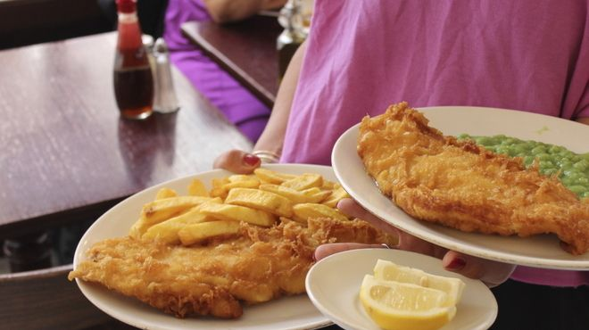 The Golden Hind- fish and chips in Marlybone