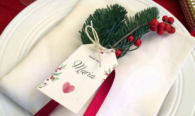 Matrimonio.it | Segnaposto natalizio fai da te, un semplice tutorial: Natale è alle porte! Un tutorial per realizzare un segnposto natalizio fai da te.