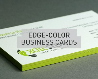 7 best edge color business cards images on pinterest business edge color business cards printed on really thick paper at thikit create a very colourmoves