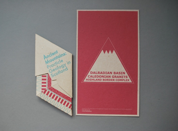 Ancient Mountains Pop Up Mailer