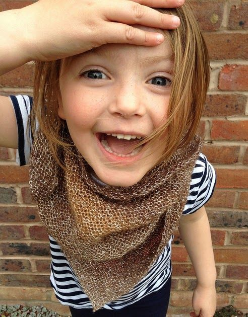 A few of the children at knitting club have been fancying my triangular shawls. Some of them are doing so well, I think they are ready t...
