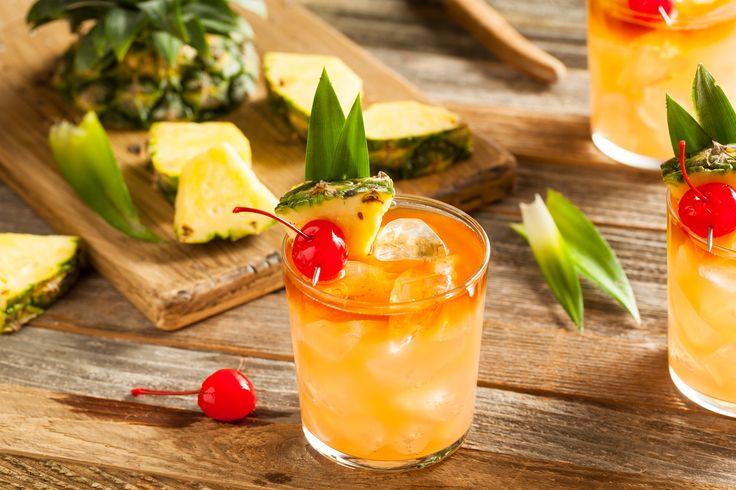 Bethenny Frankel shares a refreshing, tropical, Mai Tai recipe